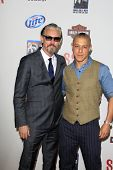 LOS ANGELES - SEP 8:  Tommy Flanagan, Theo Rossi arrives at the
