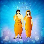 pic of sita  - Illustration of Hindu Lord Shri Rama with his wife Mata Sita on blue rays background - JPG