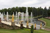 pic of samson  - Grand Cascade At Peterhof - JPG