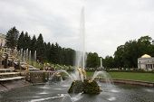picture of samson  - Grand Cascade At Peterhof - JPG