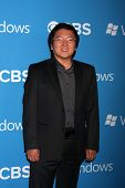 LOS ANGELES - SEP 15:  Masi Oka arrives at the CBS 2012 Fall Premiere Party  at Greystone Manor on S