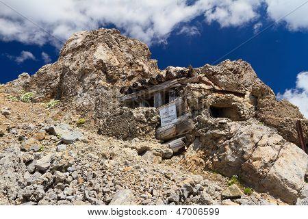 Ww1 Building In Dolomites