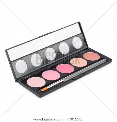Make-up palette isolated