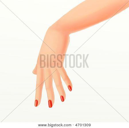 Girl Hand