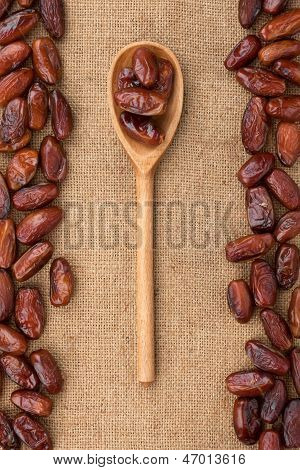 Wooden Spoon With Date