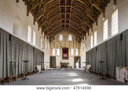 interior of Stirling Castle, Scotland