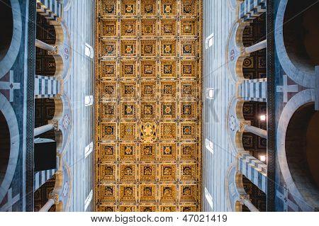 Interior Of Pisa Duomo