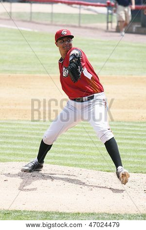 Altoona Curve pitcher Stolmy Pimental