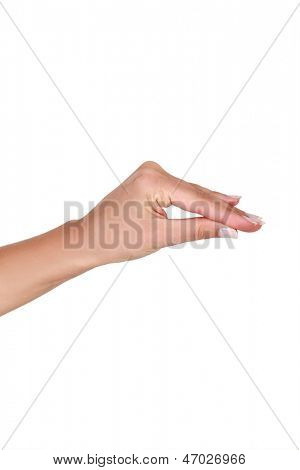 Pinch gesture