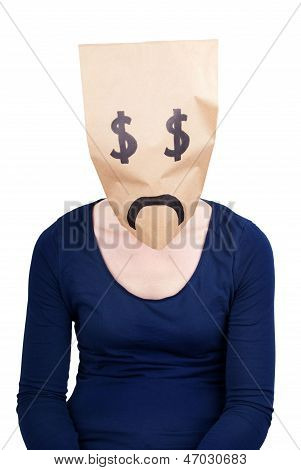 A Desperate Dollar Paper Bag