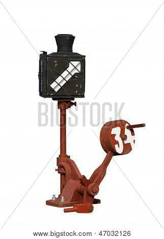 Equipment Change Tracks Isolated On White Background.
