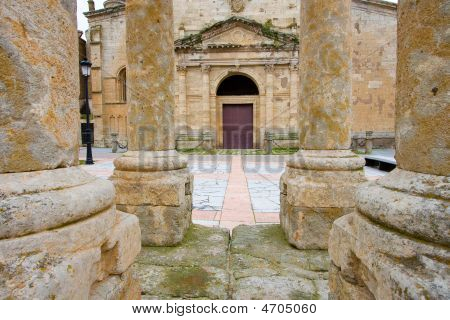 Cathedral Of Ciudad Rodrigo, Salamanca (spain)