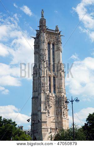 Tour Saint Jacques in Paris, France