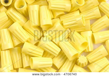 Yellow Wirenuts
