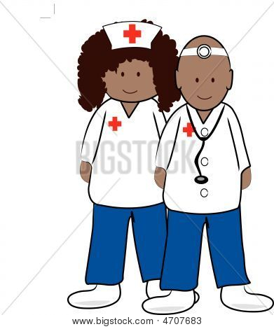 Doctor And Nurse.