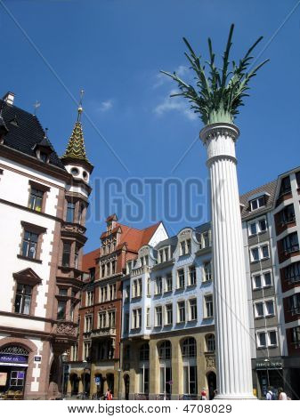Leipzig. Saxonia, Germany.