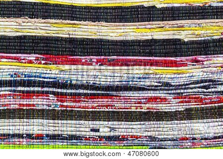 Fabric Colurful Detail Alternation  Pattern