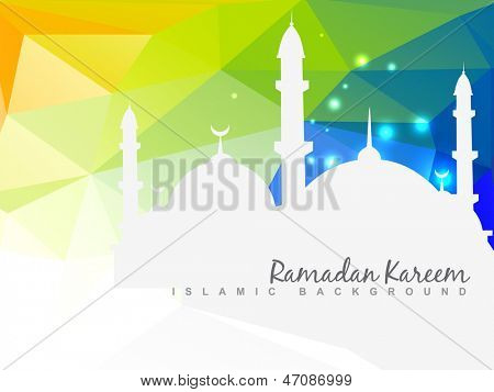 vector beautiful islamic background design