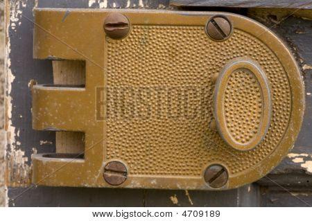 Old Weathered   Lock