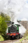 picture of locomotive  - steam locomotive - JPG