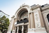 Saigon Opera House or Municipal Theatre of Ho Chi Minh City, Vietnam.