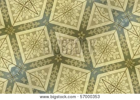 Ornament Floor Background