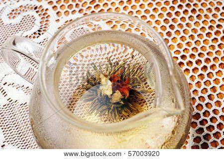 Blossom Tea In Tea Pot