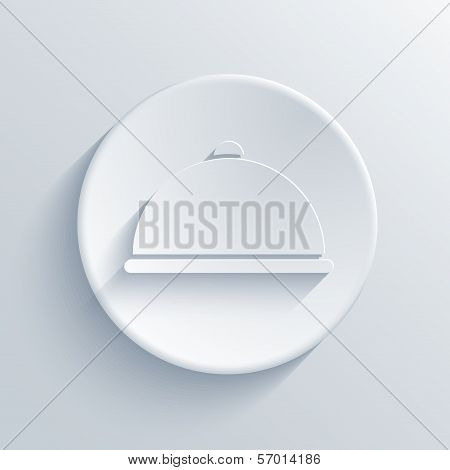 Restaurant Icon Button