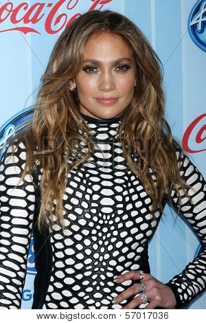 LOS ANGELES - JAN 14:  Jennifer Lopez at the American Idol Season 13 Premiere Screening at Royce Hall on January 14, 2014 in Westwood, CA