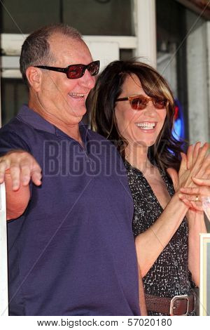 Ed O'Neill, Katy Segal at the Ed O'Neill Hollywood Walk Of Fame Induction Ceremony, Hollywood, CA. 08-30-11