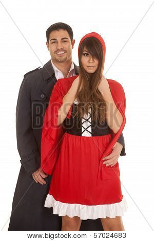 Man Behind Red Riding Hood
