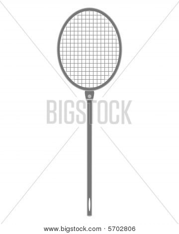 The Illustration Of A Gray Fly Swatter