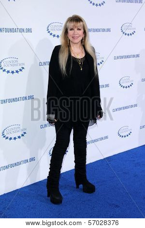 Stevie Nicks at the Clinton Foundation Gala in Honor of