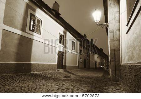 Narrow European Street