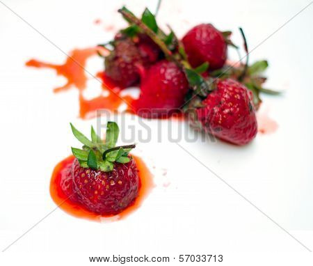 Rot Strawberry