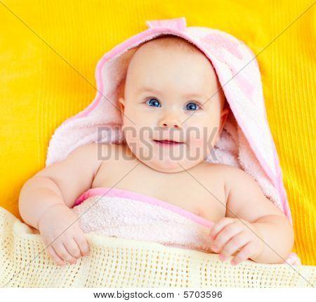 Infant In Towel