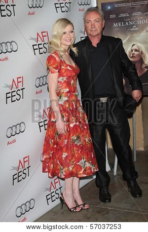 Kirsten Dunst, Udo Kier at the 2011 AFI Fest Special Screening of