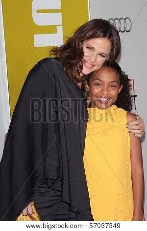 Jennifer Garner, Yara Shahidi at the 2011 AFI FEST