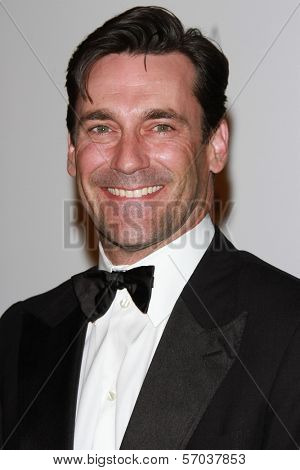 Jon Hamm at the LACMA Art + Film Gala Honoring Clint Eastwood and John Baldessari, LACMA, Los Angeles, CA 11-05-11