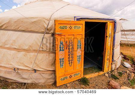 Mongolian Yurt Exterior