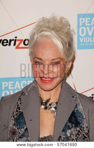 Lois Aldrin at the Peace Over Violence 40th Annual Humanitarian Awards, Beverly Hills Hotel, Beverly Hills, CA 10-28-11