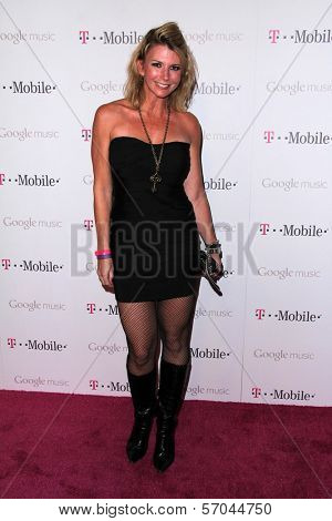 Tamie Sheffield at Google And T-Mobile Celebrate The Launch Of Google Music, Mr. Brainwash Studios, Los Angeles, CA 11-16-11