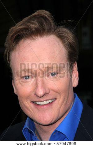 Conan O'Brien at the