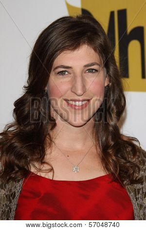 Mayim Bialik at the Critics' Choice Television Awards Luncheon, Beverly Hills Hotel, Beverly Hills, CA. 06-20-11