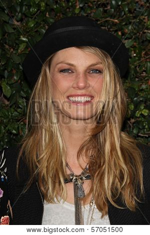 Angela Lindvall at a Benefit Dinner For The Natural Resources Defense Council's Ocean Initiative hosted by Chanel, Privaye Location, Malibu, CA. 06-04-11
