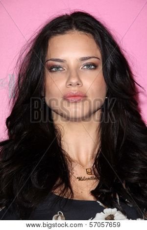 Adriana Lima at the Victoria's Secret release of the 2011 What Is Sexy? list and the kickoffr to the bombshell summer tour, The Beverly, Los Angeles, CA. 05-12-11