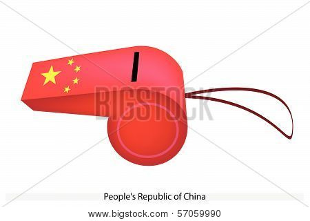 A Whistle Of Peoples Republic Of China
