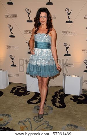 Caterina Scorsone at the 4th Annual Television Academy Honors, Beverly Hills Hotel, Beverly Hills, CA. 05-05-11