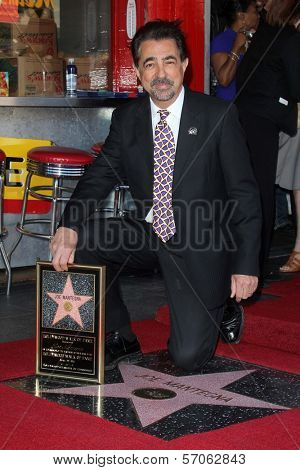 Joe Mantegna at Joe Mantegna's induction into the Hollywood Walk Of Fame, Hollywood, CA, 04-29-11