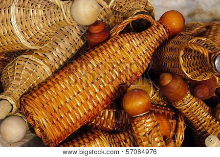 Basketry Bottles